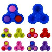 Tiktok brinquedos pop it empurre a ponta do dedo do dedo da bolha seus fidificados fidgets brinquedo descompressão sensorial dedos dedos dedos anti anti-stress relevo 5color g4u6wie