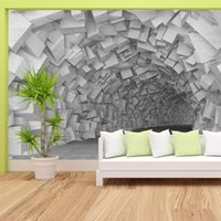 3d Grey Brick Murals Wallpapers For Living Room Bedroom Peel And Stick Mural Rolls Walls Papers Home Decor Contact Paper