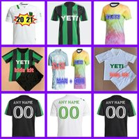 2021-- 2022 Cecilio Austin FC Soccer Jerseys Anel Besler Pochettino Away 21 22 Homens + Kid Kit Camisas de futebol Camisetas Fútbol Maillot de pé