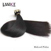 Melhor fita de 10A em extensões de cabelo humano virgem original natural Virgem Raw Remy Brasileiro Peruano Indian Malaysian Skin Wefts PU Cabelo
