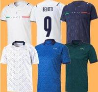 Bastoni إيطاليا Insigne Soccer Jerseys 2021 22 Italie Verratti Jorginho Mailleots Foot Nothobile Belotti Berary Chiesa Barella Italia Football Shirts S-4XL