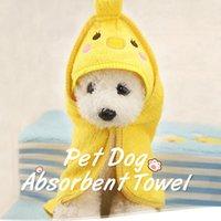 Nuevas toallas absorbentes para perros Gatos de la moda Toalla de baño Nano Fibra Baño de secado rápido de la toalla suave Coche de limpieza Suministros para mascotas