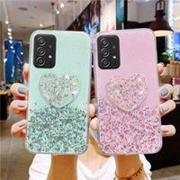 For Samsung Galaxy A32 Cases Silicon Glitter Cover A52 A72 A51 A71 A31 A41 A21s A12 A02S A20e A40 A50 A70 Fundas