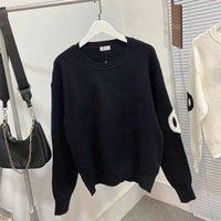 Dropship Fashion Femenino con capucha de mujeres otoño invierno suéter suéter camisetas con la perla número 31 para mujeres negro blanco 2colors 98310