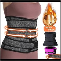 Support Thermo Sweat Belts For Women Waist Trainers Corset Tummy Body Shaper Fitness Modeling Strap Waste Trainer 6R4Ae Qsah6