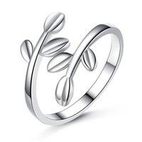 Тикток, красный, гладкий лист, очаровательную оливковую ветвь, кольцо, простое кольцо для листьев.