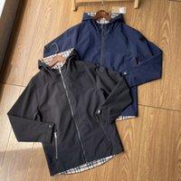 2021 Limited Men S Hoodies Classic Повседневная Куртка Рука Кожаные Теги Дизайн Металлический Треугольник Вышивка Импортированная Возобновляемый Нейлон Материал Письмо молнии Осеннее пальто