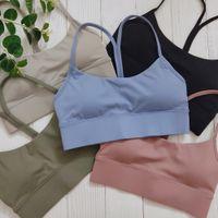 Gymfever Y-Type Sport Plus Taille XL XXL Fitness Crop Tops Hauts d'entraînement Femmes Yago Retour Gaten à Yoga Sports Bra pour femme