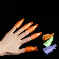 Festive Party Favor Supplies Phototherapy Manicure Nail Remover Wrap Nails Remove Armor Clip 5pcs set LLA636