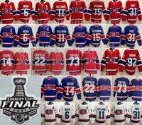 Hóquei Stanley Cup final Montreal Canadiens Jersey Cole Cole Cola Cole Cola Nick Suzuki Jesperi Kotkaniemi Brendan Gallagher Carey Preço Weber Reverse Retro