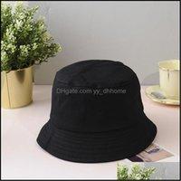 Wide Brim Hats Caps Hats, Scarves & Gloves Fashion Aessoriesxaybzc Unisex Summer Foldable Bucket Hat Women Outdoor Sunscreen Cotton Fishing