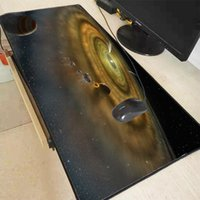 Mouse Pads & Wrist Rests XGZ Colorful Space Planet Large Gaming Pad Speed Version Mat Keyboard Desk Laptop Computer Gamer Mousepad XL