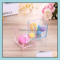 Other Event Festive Home & Gardentransparent Cube Wedding Favor Candy Box Aron Case Clear Gift Boxes Christmas Baby Shower Party Supplies Sn