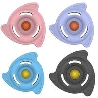 Stress Relief Fidget Brinquedos Trilha Bola Pressione Pioneer Press Bubble Bubble Indução Sistema de Indução Trens Spinner Anti Ansiedade Descompression Toy G895OQH