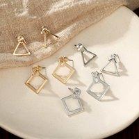 Pendientes de moda lindos lindos Pendientes de joyería de moda Pendientes cuadrados Pendientes para mujer Brinco Brinco Oorbellen