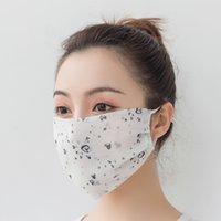 Chiffon Druck Sonnenschirm Outdoor Eiwing Maske Anti Haze Sonnencreme Staub Schleier