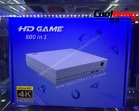 휴대용 게임 플레이어 HD 콘솔 지원 1280 * 720 4K TV 출력 800 in 1 게임 PS1 / CPS / GBC / SMS 용 레트로 패밀리 플레이어