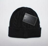 패션 디자이너 폴로 비니 유니섹스 가을 겨울 비니 남자와 여자 모자에 대 한 니트 모자 클래식 스포츠 작은 말 두개골 모자 숙녀 캐주얼 야외 따뜻한 모자