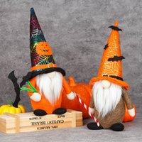 Cadılar bayramı Gnome Dolması Bebek Parti Malzemeleri El Yapımı Yarasa Tomte Nisse İsveç Elf Cüce Ev Çiftlik Evi Mutfak Raf Katmanlı Tepsi Süslemeleri HH21-631