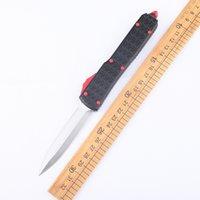 Automatic knife tactical CNC T6-6061 aluminum handle self-defense outdoor tool camping hunting EDC equipment manual pocket fishing blade