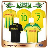 2021 FC Nantes 20. Yıldönümü Futbol Forması 21/22 Ev Coulibaly Coco Blas Gömlek Bir Toure Louza Simon Away Futbol Üniforması