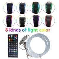 Portable Game Players 8 Colors Lighting Console Light Strip LED For PS5 With Remote Control Ambiance Backlights