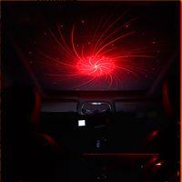 USB سيارة ضوء الليزر ضوء الديكور مصباح النجوم سماء السماء الداخلية تعديل السيارات سقف أضواء الإسقاط الصوت التحكم في الأجواء مصابيح