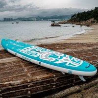 Funwater Uscaeu Warehouses Dropshipping entrega dentro de 7 dias Surfboard 320 * 84 * 15cm Atacado Inflável Sup Stand Up Paddle Placa Surf Paddleboard Esportes aquáticos