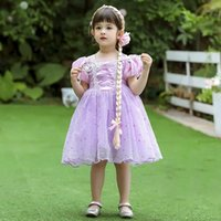 Girl's Dresses Summer Baby Girl Vintage Turkey Lolita Ball Gown Infant Princess Cotton Dress Children FN027