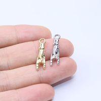Charms Eruifa 20 stücke 20 * 5mm schöne 3D Hand Zink Legierung Schmuck DIY Anhänger Frauen Mädchen Halskette, Ohrring Armband 2 Farben