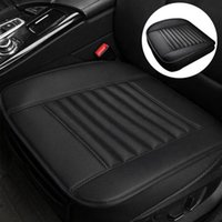 Pc Car Seat Cover Front Breathable Leather Cushion Protection Pad Four Seasons Pu Accessories Covers