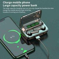 TWS Bluetooth Auricolare R7S 5.1 Cuffie senza fili Riduzione del rumore Riduzione dell'HiFi Call Touch Control Siri Sport Auricolari Sport Carica per il telefono