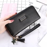 Wallets Ladies Purse Leather Fashion Handbag Female Leisure Wallet Korean Version Long Style Ticket Clip Trend Su