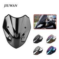 Motorcycle Windshield JIUWAN 1pc Windscreen ABS Spoiler For S1000XR 2014-2021 Wind Deflectors Decoration Accessories