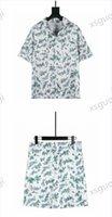 Shirts Summer High Quality Camouflage Casual Clothing Set Fashion Print T-shirt Shirt Classic Short Sleeve