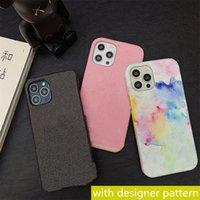 패션 디자이너 전화 케이스 iPhone 12 Pro Max 11 XR XS 7/8 Plus Huawei P20 P30Pro P40 메이트 20 30 40pro 럭셔리 가죽 보호 쉘 케이스 핸드폰 커버