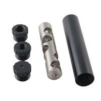 OD 1.06 L 6 Aluminiowa stal nierdzewna Pojedyncze zestawy przegrody Napa Filtr samochodowy Filtr paliwa Solvent Pułapki Adapter 1 / 2x28 5 / 8x24