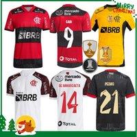 21 22 Flamengo Soccer Jerseys 2021 2022 Diego E.Ribeiro Gabriel B. Gabi Jersey Football Pedro Matheuzinho De Arrascaeta Gerson B.Henrique Camisa Mengo Mengo Hommes Chemises