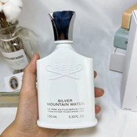 Creed Silver Mountain Water 100ml Men Perfume Fragrance Eau de Parfum Creed Aventus الفضة المياه كولونيا طويلة الأمد رائحة زجاجة بيضاء للرجل