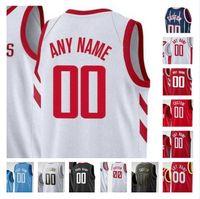 Custom Printed Tracy 1 McGrady Hakeem 34 Olajuwon Clyde 22 Drexler Sam Cassell Yao 11 Ming 3 Steve Francis Men Women Kids Basketball Jerseys