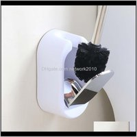 Fırçalar Tutucular Ev Seti Yaratıcı Tırnak WallMounted Lüks El ve Kulübü Paslanmaz Çelik Tuvalet Fırçası Banyo Dekor Temizleme 6Dumv RJDCB