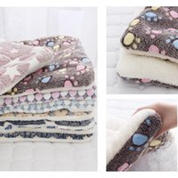 Kennels & Pens Winter Thicken Warm Cat House Dog Blanket Pet Mat Flannel Bed For Small Medium Large Puppy Sleeping Cover Towel Cushion