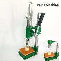 Press Machine for G5 M6T 세라믹 카트리지 Manual Arbor Press 용 Dank Vape Moonrock Cartridge Pure One Eureka 크기 150mm * 220mm * 360mm 1 시간 4pcs