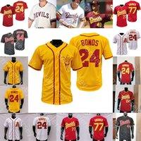 2021 New Asu Arizona State Baseball Jersey College Barry Bonds Reggie Jackson Reggie Jackson Torkelson Drew Swift Hauver Jump Cheema La Flam