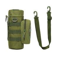 Bolsa de chaleira militar para Molle tático mochila exército garrafa de água bolsa à caça ao ar livre caminhadas cintura sacos