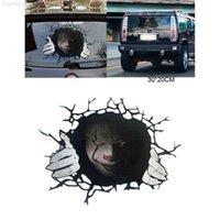 Horror Halloween Stickers Stickers Design Personnalisé Carte de la porte de voiture Stickers décoratifs corporels extérieurs pour adultes