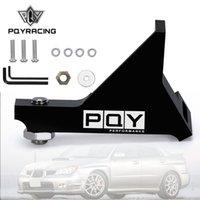 PQY - Главный цилиндр Поддержка кронштейн жесткий тормозной тормозной педаль ощущение для 02-07 Subaru Impreza / RS / WRX / STI PQY-HBM02BK-QY