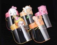 Faceshield Transparent Full Face Cover Protective Film Anti-fog Premium PET Kids Face Shield Designer Masks Sea ZHL8112