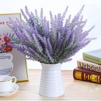 1Pcs Bouquet Provence Lavender Artificial Flowers For Home D...