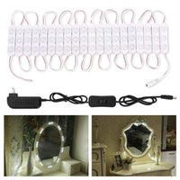 Vanity Mirror Lights,10FT 60Leds DIY Light Kit For Cosmetic Makeup Dressing With Power Supply Plug ON OFF Switch,Natural LED Modules
